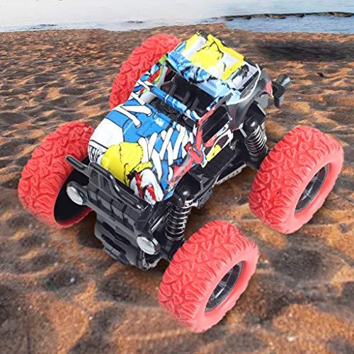Mitlfuny Auto-Modell Plüsch Bildung Squishy Spielzeug aufblasbares Spielzeug im Freien Spielzeug,Mini Inertia Allradantrieb Spielzeugauto Geländewagen (Toy Story Paare)