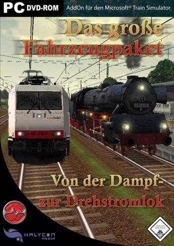 Das groe Fahrzeugpaket - Von der Dampf- bis zur Drehstromlok - fr den Microsoft Train Simulator [Edizione : Germania]