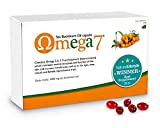 Pharma Nord Omega 7 - Sea Buckthorn Oil (Omega-3, 6, 7 & 9) 150 caps (Pack of 2)