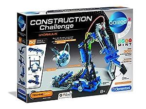 Clementoni 59132 Construction Challenge-Hydraulischer Arma, alfonbrilla para ratón
