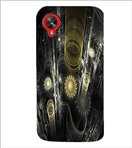 PrintDhaba Digital design D-2187 Back Case Cover for LG GOOGLE NEXUS 5 (Multi-Coloured)