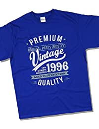 1996 Vintage Year - Aged To Perfection - 21 Ans Anniversaire T-Shirt pour Homme