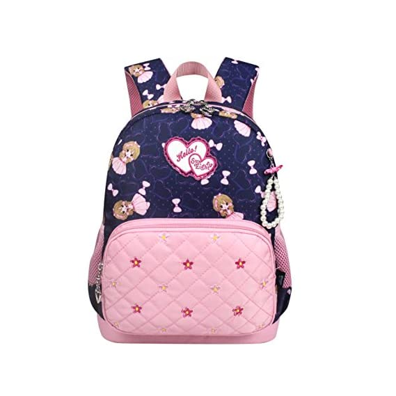 Reelay mee Nylon Fabric 13 L Light Weight Fascinating Pre Primary Royal Blue School Backpack (Below 6 Years)