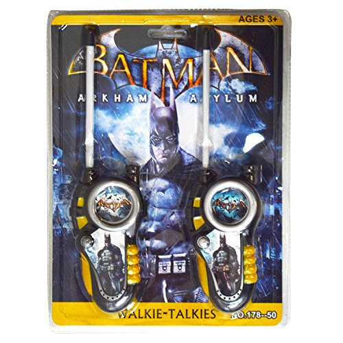 DC Hero Batman Arkham Asylum batteriebetrieben Walkie Talkie Set Hohe Reichweite für Outdoor/Indoor
