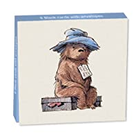 Museums and Galleries Marketing. Classics 10.6 x 10.6 x 1.4cm Paddington Bear Sitting on His Suitcase Designed Mini Note Card Wallet