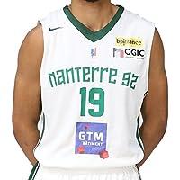 Nike Basket Nanterre 92 Réplica Domicile 2017-2018 Maillot de Basketball Homme