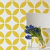 Circulo Fliesen dekorative Wandschablone - Schablonen für wände - Maler Schablonen