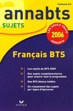 Annabts 2006 français