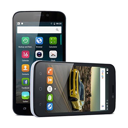 Preisvergleich Produktbild Blackview A5 Quad-core 4.5 Zoll 3G-Smartphone Android 6.0 1GB+8GB Dual Kamera Gesture Wifi Bluetooth GPS FM Weiß