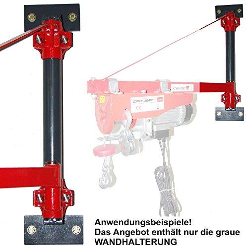 54 40 spezial wandhalterung fr seilwinde crossfer for Montacarichi da balcone per legna
