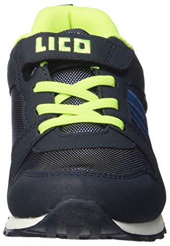 Geka Men Mario Vs Sneaker Blu (blu / Blu / Limone)
