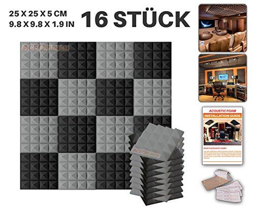 ace-punch-16-stucke-schwarz-und-grau-kombination-pyramide-akustikschaumstoff-schallschutzisolierung-