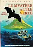Le mystère de l'île verte - Collection : Bibliothèque rose cartonnée