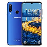 DOOGEE N20 (2019) Dual SIM 4G Cellulari Economici, 6.3 pollici FHD+ Display Telefoni Cellulari in Offerta Android 9.0 Octa core 4 GB RAM 64 GB ROM, Telecamera 16 MP+16 MP+8 MP, 4350 mAh - Blu