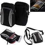 K-S-Trade Belt bag, holster/shoulder bag for Blackview BV