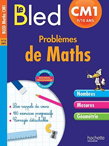 Cahier Bled - Problèmes De Maths Cm1 par Daniel Berlion