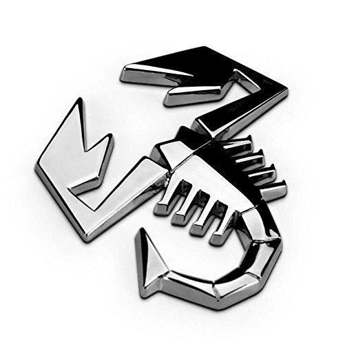 D809 Skorpion Emblem Badge top auto aufkleber car Sticker Abziehbild metal Chrom