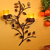 Best Tree Stands - Homesake Tree with Bird Nest Votive Stand Yellow Review