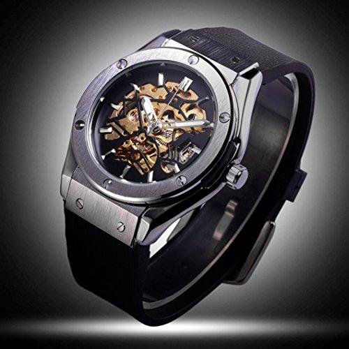 Preisvergleich Produktbild Sansee Herrenuhren Top Marken-Luxus Automatikuhr - Herren Automatische mechanische Uhr T-WINNER GMT921