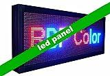 Gowe IP65Outdoor Programmierbare LED Panel Nachricht, Werbung Display mit RGY Farbe und Größe 39,9x 103,9cm