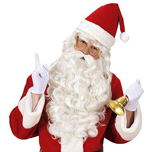 KINYNE Weihnachtsmann Weihnachtsmann Lange Bart Und Perücke Set Synthetische Hitzebeständige Faser Weiß Curly Wizard Für Cosplay Partei/Fancy - Synthetische Kostüm Bart Und Perücke Set