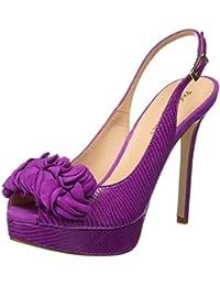 Zapatos Tacon Lila