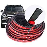 16.4FT (5M) Self Adhesive Automotive Rubber Seal Strip Weatherstrip for Car Window Door Engine Cover