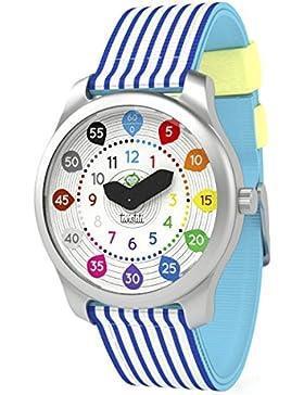 twistiti–Zeigt Kinder pädagogische Zahlen–Armband Marinière blau