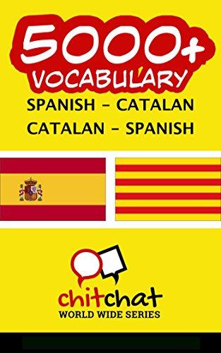 5000+ Spanish - Catalan Catalan - Spanish Vocabulary por Jerry Greer