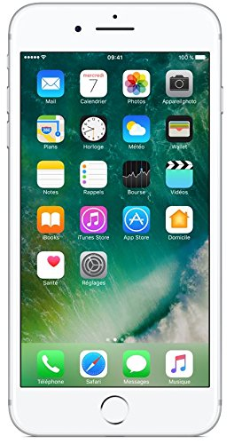 Apple iPhone 7 Plus Smartphone  4G (Display: 5,5' - 128 GB - iOS 10) Nero opaco [Francia]