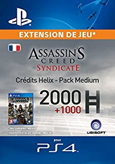 Assassin's Creed Syndicate - Pack Medium Crédits Helix [Code Jeu PSN PS4 - Compte français] (B017A8O7C6)   Amazon price tracker / tracking, Amazon price history charts, Amazon price watches, Amazon price drop alerts