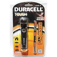 Duracell CMP-3 - Linterna (Linterna de mano, Negro, Aluminio, 9