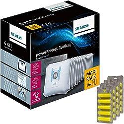 20 Parfums + 16 Sacs Aspirateur pour Siemens Car & Home, VS06G2424 Synchropower Parquet, Domeos, VS55A89/02, VS 5 A 1000 BIS 9999, VS50000, Super XS Dino E, VS73C03/05