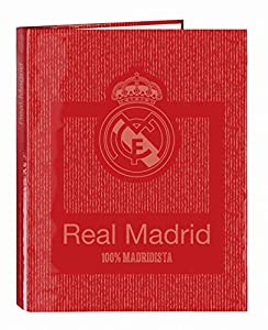 Safta- Carpeta Folio 4 ANI.Mixtas Real Madrid 26,5x33x4, (511957067)