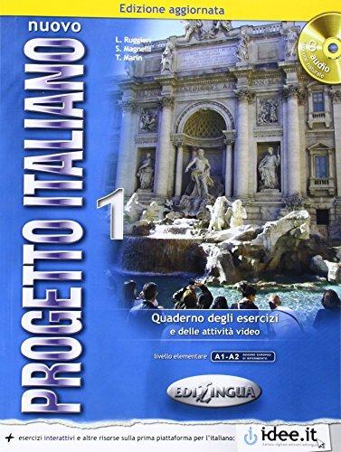 Nuovo Progetto Italiano: New Ed Quaderno Degli Esercizi 1 + CD-Audio (Level A1-A2): Written by L Ruggieri, 2013 Edition, Publisher: Edilingua Pantelis Marin [Paperback]