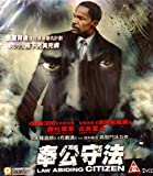 Law Abiding Citizen (2009) By PANORAMA Version VCD~In English w/ Chinese Subtitles ~Imported From Hong Kong~ by Jamie Foxx, Leslie Bibb Gerard Butler