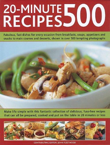 500 20-Minute Recipes