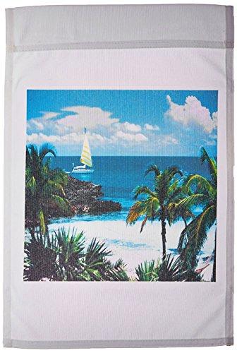 3drose FL _ 54206_ 1Bahamas Dejeuner Garten Flagge, 12von 18 (Bahamas-flagge T-shirt)