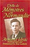 Telecharger Livres Drole de Memoires En Normandie (PDF,EPUB,MOBI) gratuits en Francaise