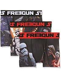 Star Wars Jungen Boxershorts Freegun 3er Pack