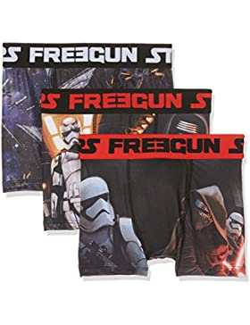 Star Wars Freegun, Bóxer para Niños (Pack de 3)
