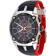 SEIKO Sportura - Reloj de caballero de cuarzo, correa de acero inoxidable color varios colores