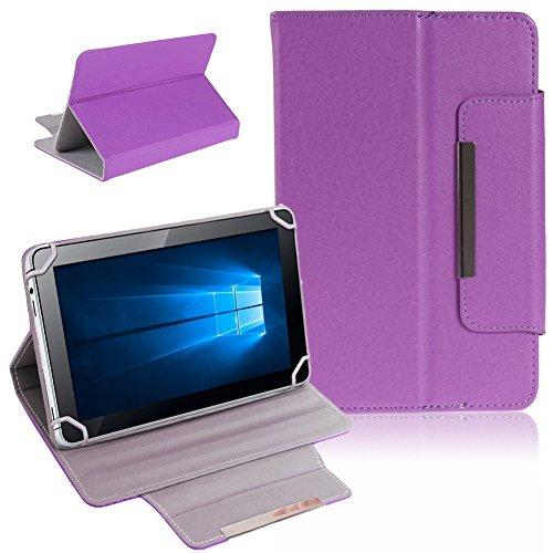 Nauci Kiano Intelect 8 MS Tablet Schutz Tasche Hülle Schutzhülle Case Cover Bag, Farben:Lila