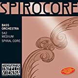 thomastik-infeld 3885 Spirocore, double Bass Strings, set completo, 3/4 dimensioni, Orchestral Tuning