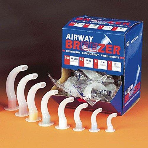 Airway-Breezer Einmal Guedel-Tubus unsteril Gr. 3 gelb