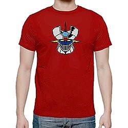 Camiseta de Hombre Mazinger Z Roja