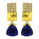 Valentine's Day Gift Peora Blue Triangul...