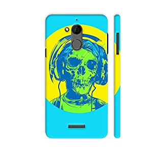 Colorpur Coolpad Note 5 Cover - Dead Rockstar Printed Back Case