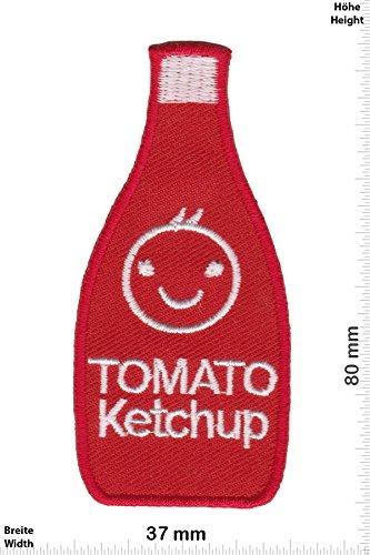 Patch - Tomato Ketchup - Kids Patch - Tiere - Kinder Patch - Patches - Aufnäher Embleme Bügelbild Aufbügler