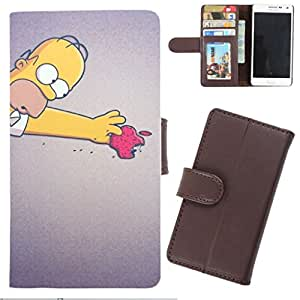 DooDa - For Nokia Lumia 1320 PU Leather Designer Fashionable Fancy Wallet Flip Case Cover Pouch With Card, ID & Cash Slots And Smooth Inner Velvet With Strong Magnetic Lock